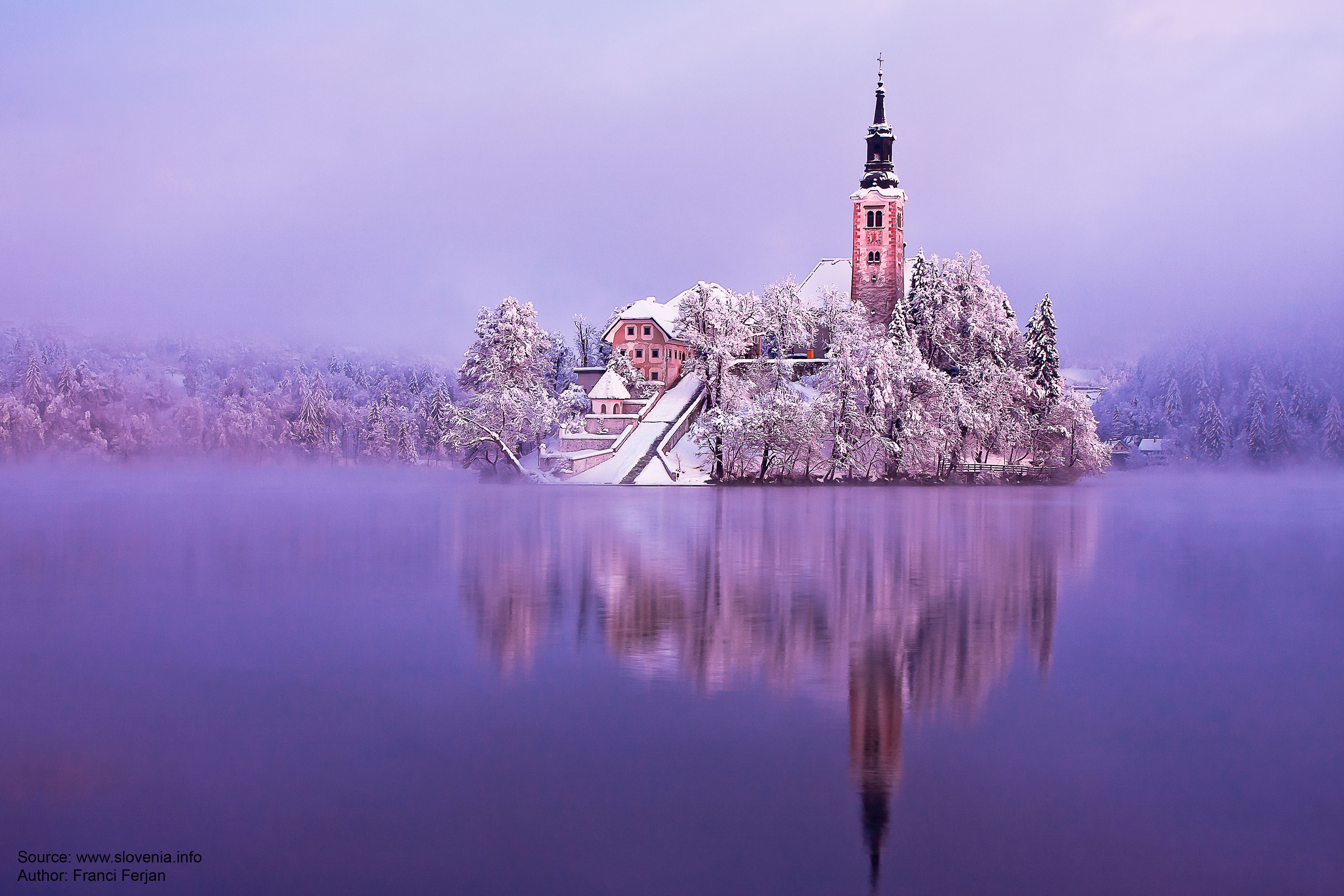Bled - Decorated in white